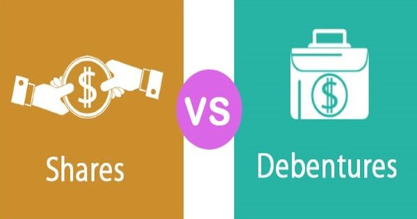 Differences between Shares and Debentures