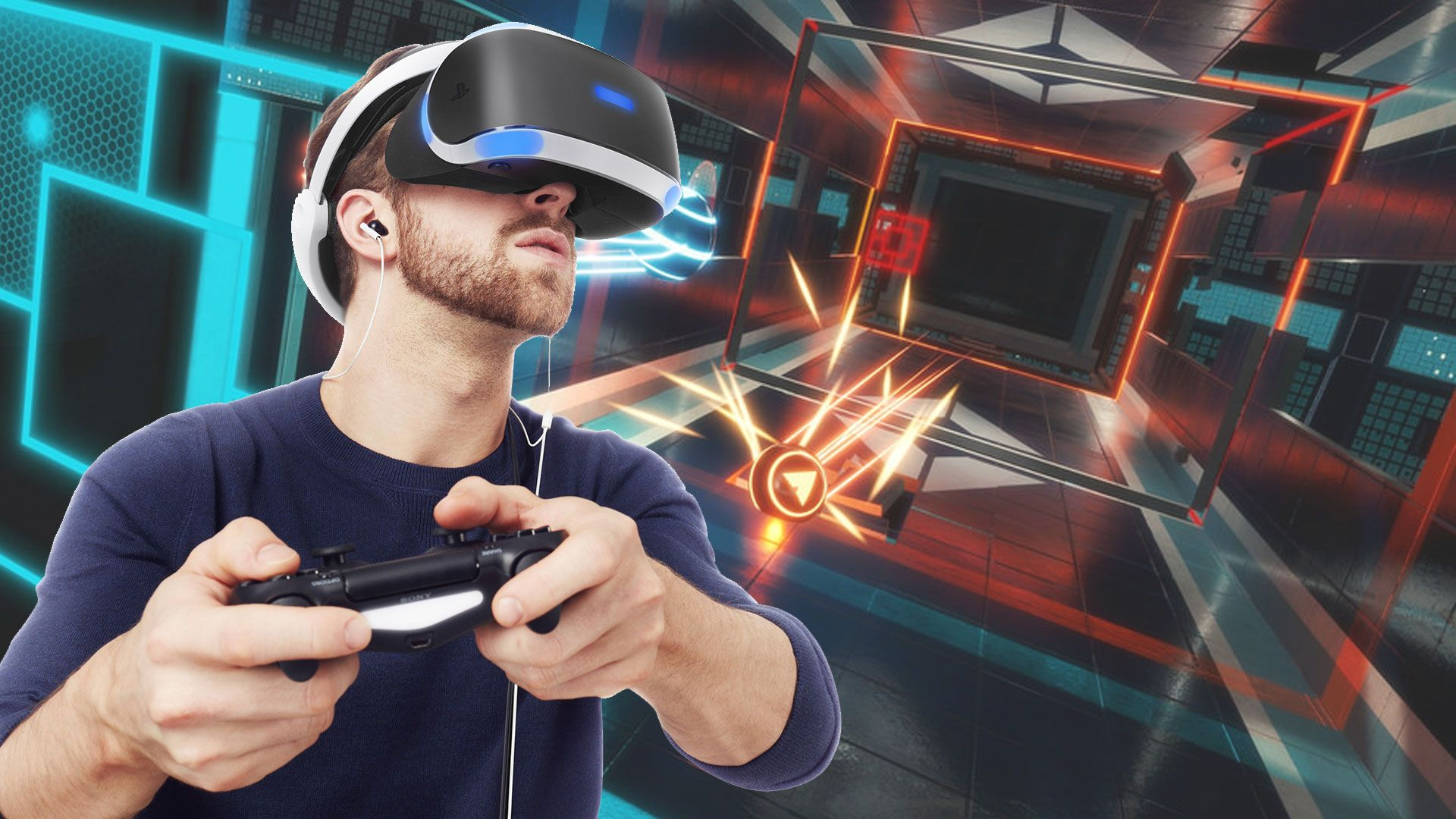 Playing The VR Reality Arcade Games
