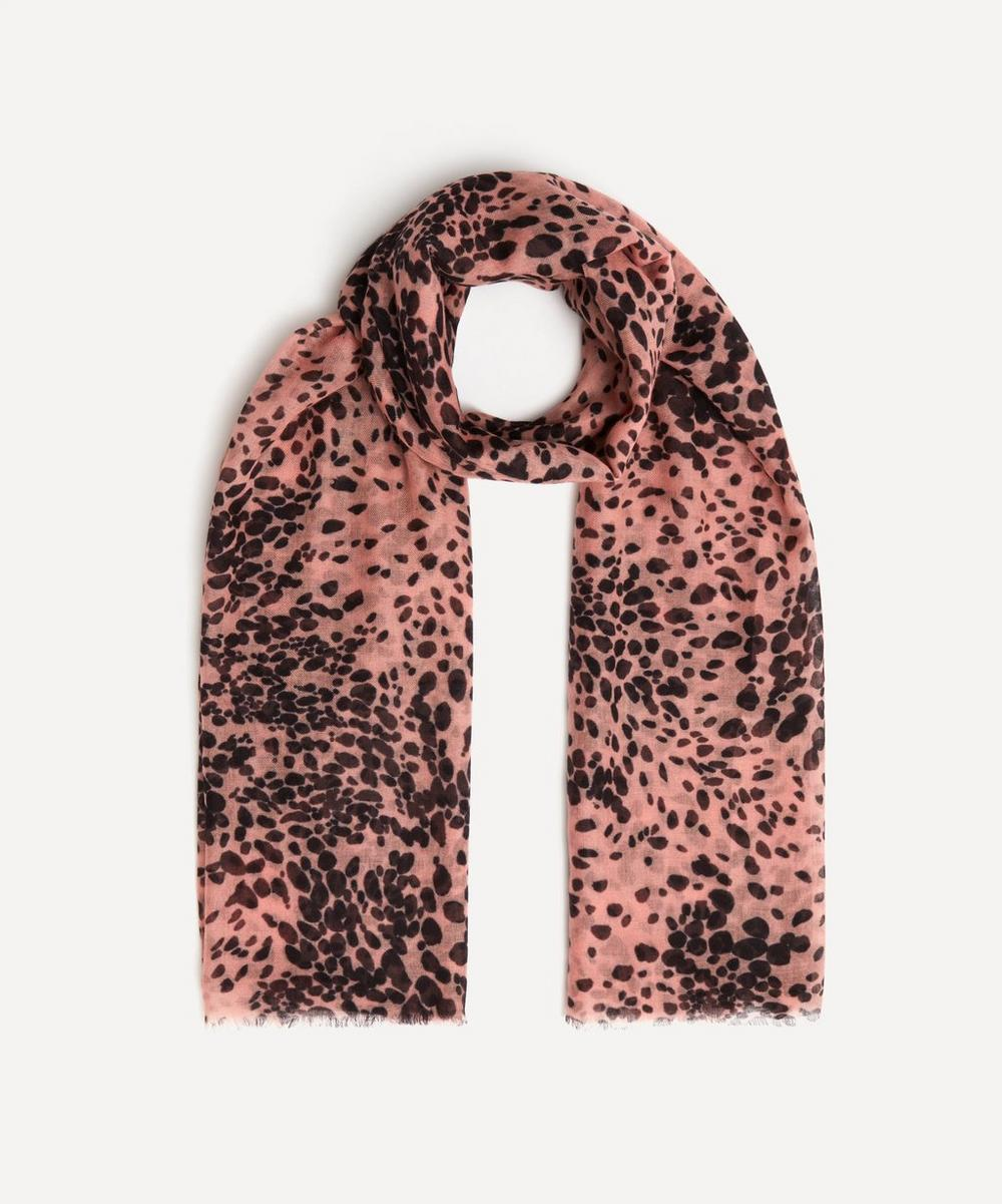 Leopard Cashmere Scarf & Wraps For Ladies For Sale