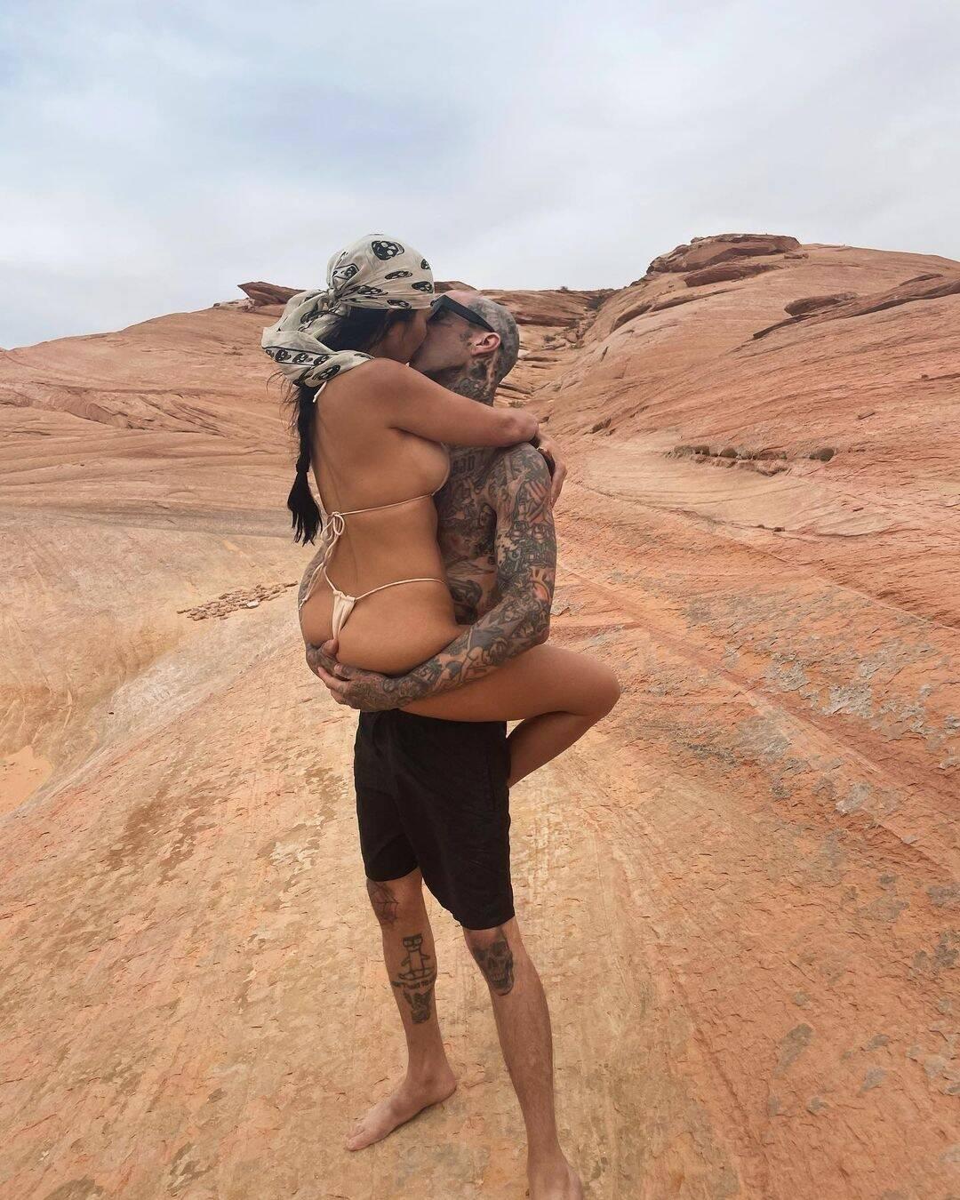 Travis Barkers Dream Getaway for Kourtney Kardashian May Be His Best Birthday Gift Yet